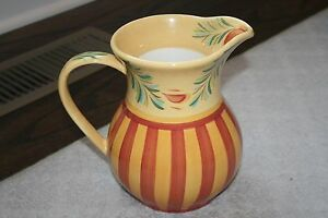euc southern living at home gail pittman 7 5 pitcher hand