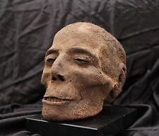 Egyptian mummified head / Cabeza momificada egipcia (oddities, curiosités, raro)