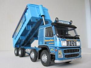 CORGI CC13501 Davidson Bros (Shotts) Ltd Volvo FM Bulk Tipper (new)
