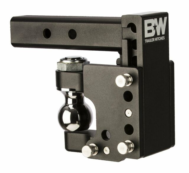 B/&W Trailer Hitches TS10037BB 2-5//16 x 2 Class IV Double Ball Hitch