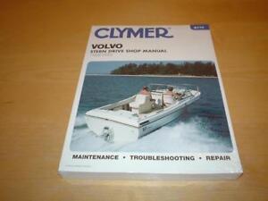 volvo penta marine engine boat stern drive motor owners repair rh ebay ie volvo penta stern drive workshop manual volvo penta 270 sterndrive manual