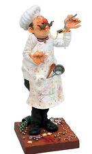 GUILLERMO FORCHINO Koch Cook Karikatur Skulptur Figur limitierte Auflage NEU