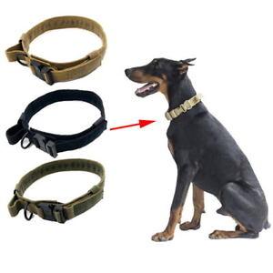Tactical-perro-Collar-Collar-Outdoor-Training-para-grandes-accesorios-de-perro-Pequeno