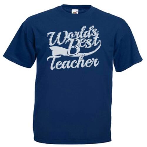 World/'s Best Teacher Adults Mens T Shirt