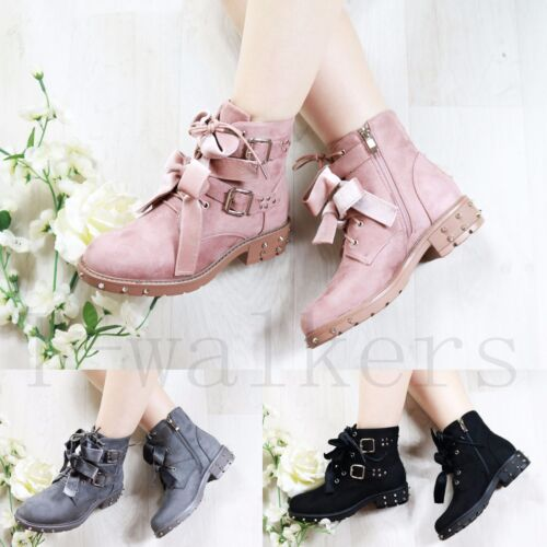 NEW LADIES WOMENS CHELSEA ANKLE BOOTS STUD BOOTS LOW MID BLOCK HEEL SHOES SIZE