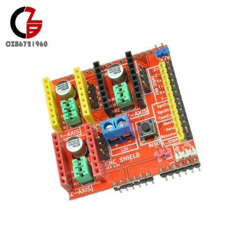 CNC Shield A4988 Driver Expansion Board for Arduino V2 Engraver 3D Printer