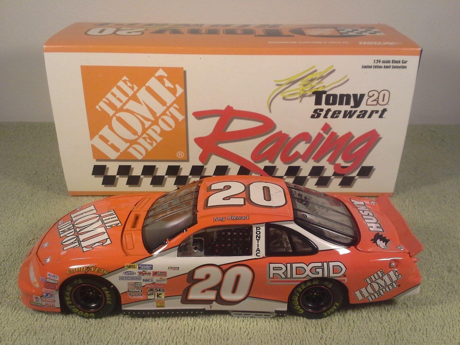 1999 acción Tony Stewart Home Depot Pontiac diecast Nascar 1 24