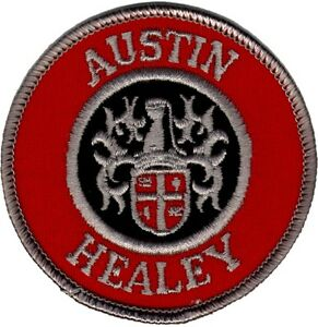 AUSTIN-HEALEY-round-embroidered-patch