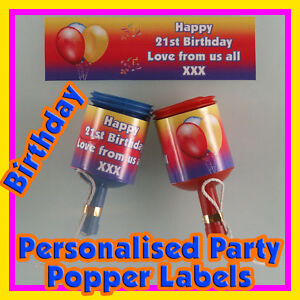 Personalised BABY SHOWER Polka Dot SONOGRAM Photo Birthday Party Popper WRAPPERS