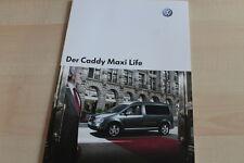 133079) VW Caddy Maxi Life Prospekt 09/2007