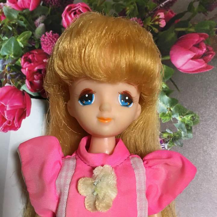 Takara Rikachan 1979 2nd generation Izumi chan doll stand included from JAPAN F
