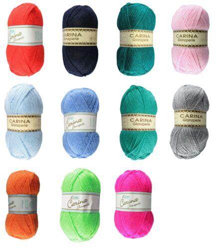 Strickgarn Acryl Wolle Polyacryl Handstrickgarn Rellana CARINA 50g 22,00€//kg
