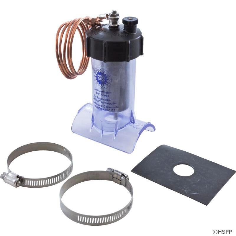 Pool Tool Inc. - Zinc Anode, Anti-Electrolysis, Inline, 2  - 104C-2