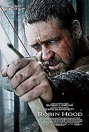 1 of 1 - Robin Hood Blu-ray (2010) Mark Strong (2 Disc Set) VGC
