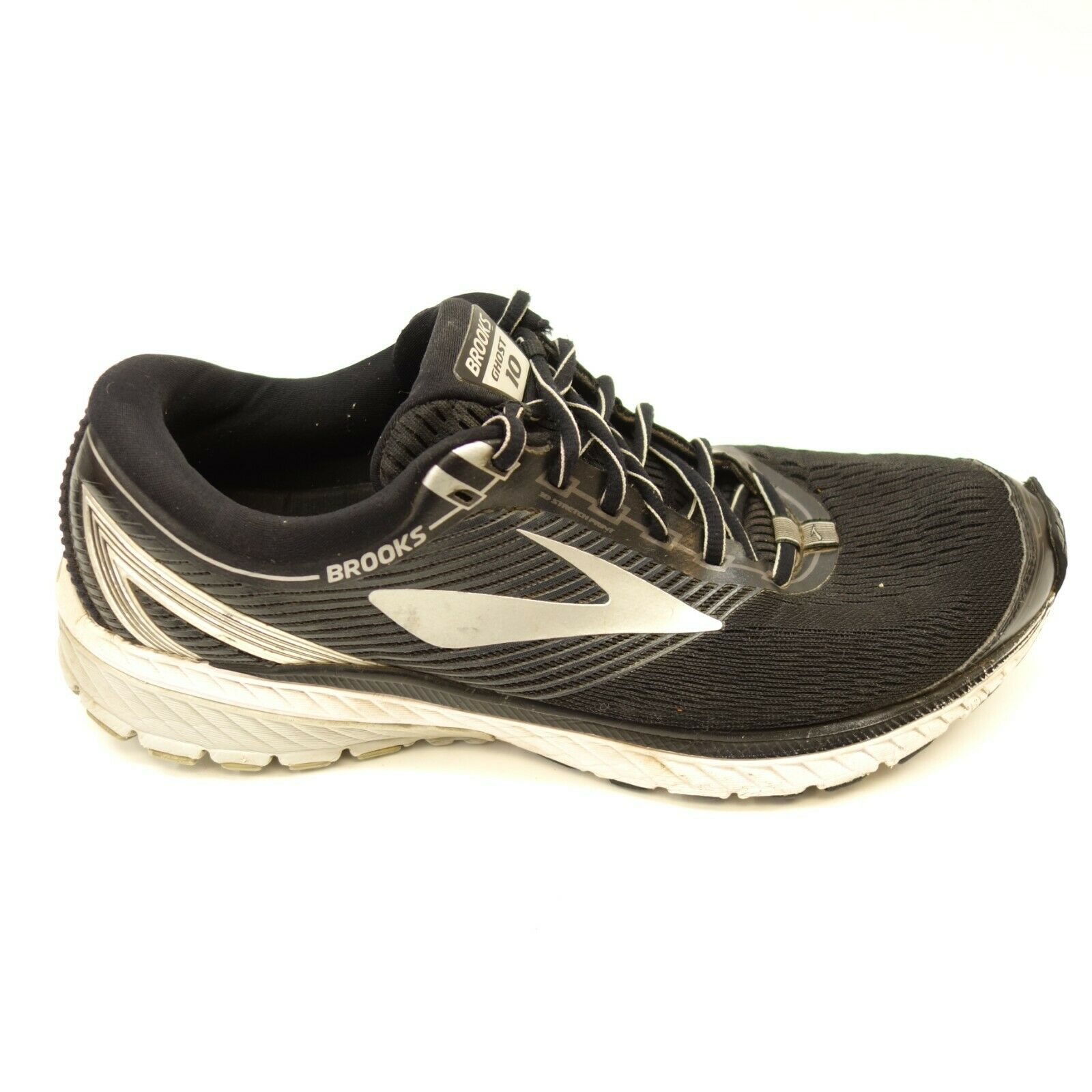 Brooks Mens Ghost 10 Road-Running DNA Loft Trail Running Athletic shoes Sz 11