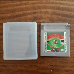 Baseball-Nintendo-Game-Boy-1989-Authentic-Cleaned-Tested-W-Manual