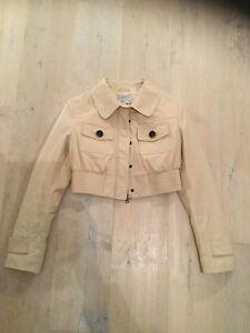 wholesale dealer 26cf8 2cc05 Details zu Strenesse Leder Jacke Lederjacke beige 36 Neu / NP 699 €