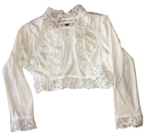 156005e1 Isobella and Chloe Lace Trimmed Abigail Bolero Girls Sizes 5-14 | eBay