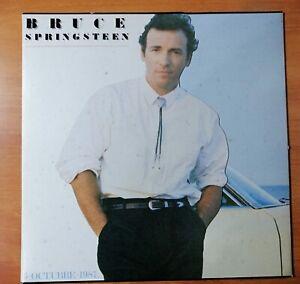 Bruce-Springsteen-Spanisch-Promo-LP-Tunnel-Of-Liebe-Special-Shaped-Gestanzte