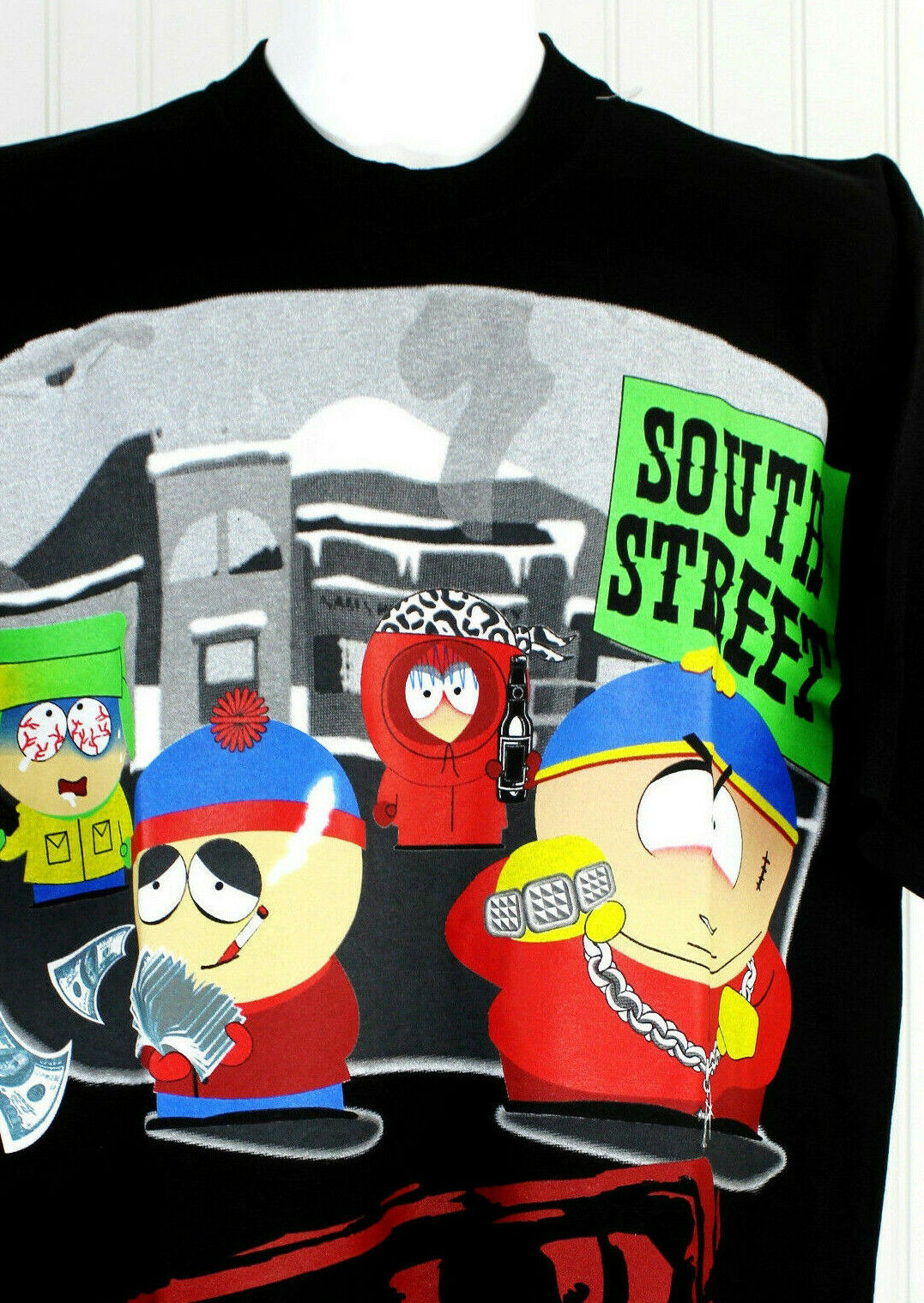 South Park Mens T shirt  Size 2XL Help Wanted Animated Sitcom TV Show