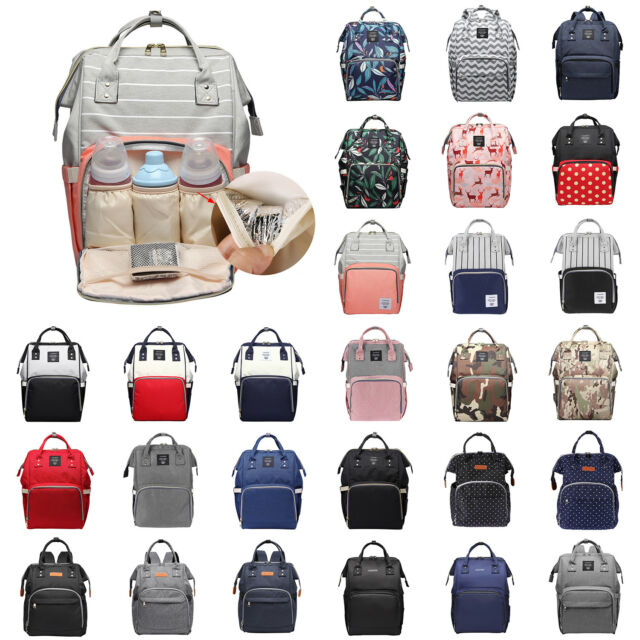Yummy Mummy Maternity Nappy Diaper Changing Bag Travel Backpack Land Queen UK Changing Bags