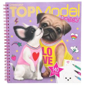 Depesche-TOPModel-Create-Your-TOPModel-Doggy-Colouring-Book-4-years