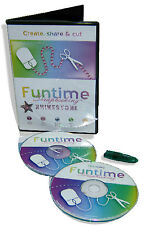 New Software FUNTIME Cameo Silhouette die cutter easy create rhinestone pattern
