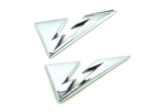 2 x véritable nouveau vauxhall badges d/'énergie pour Opel Meriva A 2003-10 SIGNUM période 2003-2007