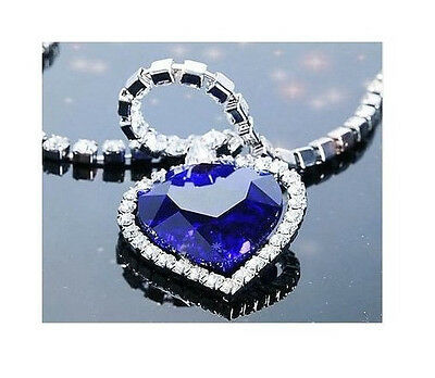 NEW Best Fashion! Titanic Heart of the Ocean Necklace Style T5 Deluxe COOL
