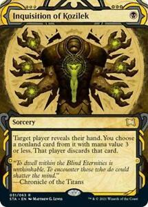 MTG Strixhaven - Inquisition of Kozilek - Mystical Archive Etched Foil NM Card