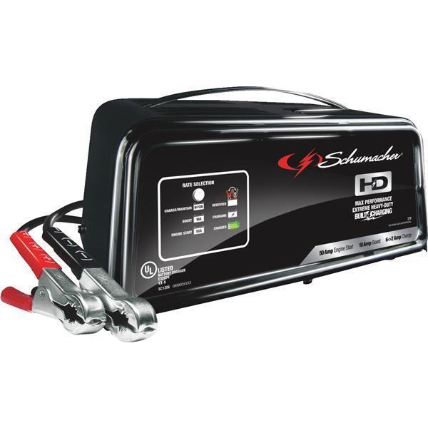Schumacher Battery Charger Manual >> Schumacher Sc1361 Automatic Battery Charger 2 10 50 Amp