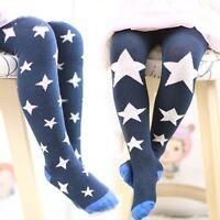 1-7Y Baby Girls Kids Toddler Soft Hosiery Pantyhose Pants Stocking Socks Tights