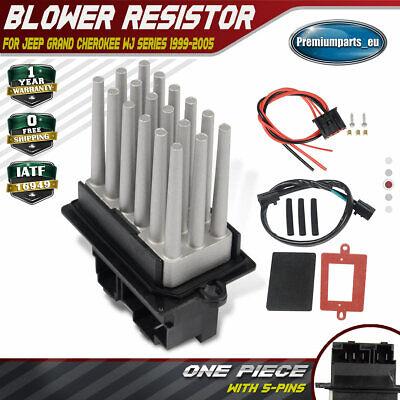 1999-2005 Fits Jeep Grand Cherokee Heater Blower Fan Resistor ASHR27JE