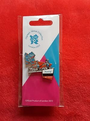 Rowing Structural Disabilities Sports Memorabilia Olympics London 2012 Venue Sports Logo Pose Pin Olympic Memorabilia