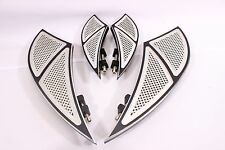 FOOT BOARD FOOTBOARDS & PASSENGER FLOORBOARDS HARLEY TOURING ROAD KING GLIDE