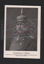 1915, Bildnis Portrait Generalleutnant v. Winckler SERBIEN WWI