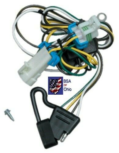 Trailer Hitch Wiring Tow Harness For GMC S-15 Sonoma ...