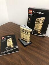 J1 NY,USA 21023 Retired LEGO Architecture Flatiron Building New York City