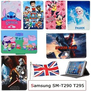 Pour-Samsung-Galaxy-Tab-A-8-0-034-2019-SM-T290-T295-Flip-Case-Stand-Up-Kids-Cover-UK
