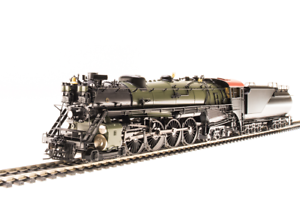 Broadway Limited 5647 Great Northern S-2 4-8-4, Unlettered, Brass HO