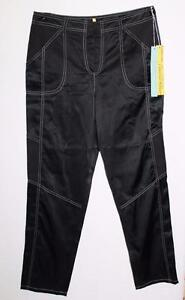 Catherine s Malandrino Størrelse Designer Pants 10 tb03 Black Us Silk Bnwt ABA1qP