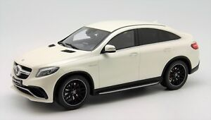 1-18-GT-Spirit-Mercedes-GLE63-S-Coupe-AMG-Dealer-Edition-White-Free-Shipping-MR