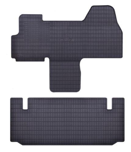 Tappetini in gomma su misura per Peugeot Boxer 2 II 2006-2018 2 pz nero