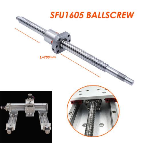 Rolled Ballscrew SFU1605 Ballnut 250//350//450//500//600//750//800//1000 Stroke XY Axis