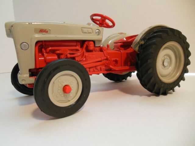 Farm Tractor FORD GOLDEN JUBILEE MODEL 1903*1953 ERTL Red Grey Diecast  803-8614