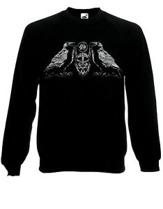 Prayer to Odin All Father Norse God Asatru Two Sided Sweater Jumper Top AD61