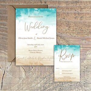 Personalised-Watercolour-Destination-Beach-Wedding-Invitations-packs-of-10