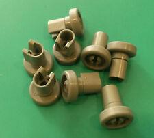 Kit ruote cestello superiore lavastoviglie Rex TT08E 8 pezzi grigie