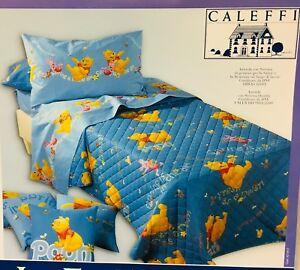 Copriletto Winnie The Pooh Caleffi.Dettagli Su Trapuntino Estivo Copriletto Trapuntato Una Piazza E Mezzo Caleffi Winnie Pooh