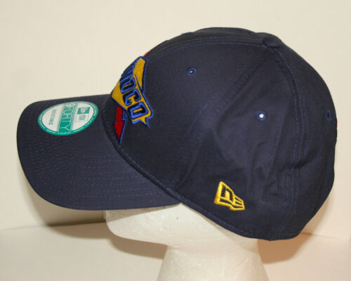 New Era 9FORTY Sunoco Oil /& Gas Blue Baseball Cap Hat New OSFM Snap Back